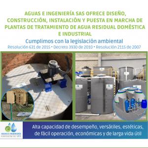 PTAR - PLANTAS DE TRATAMIENTO DE AGUA RESIDUAL (PTARD -PTARnD)