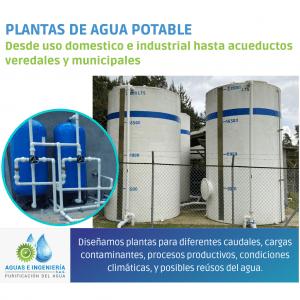 PTAP - PLANTAS DE TRATAMIENTO DE AGUA POTABLE